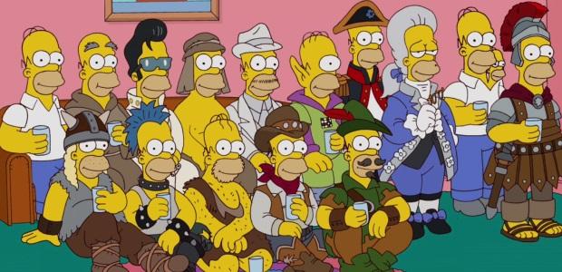 Все возможные варианты Гомера Симпсона
